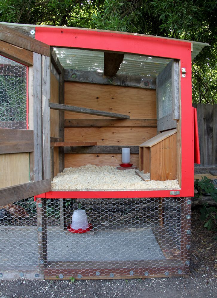Best ideas about DIY Chicken Coops . Save or Pin Simple Chicken Coop on Pinterest Now.