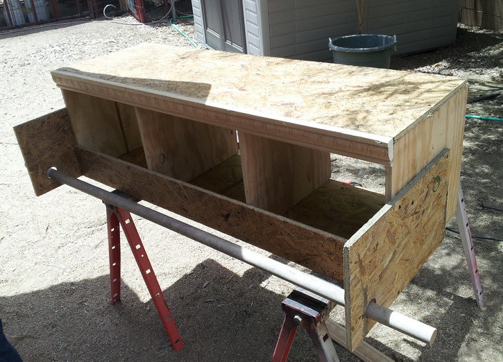 Best ideas about DIY Chicken Nest Boxes . Save or Pin How To Build a Chicken Nesting Box Now.