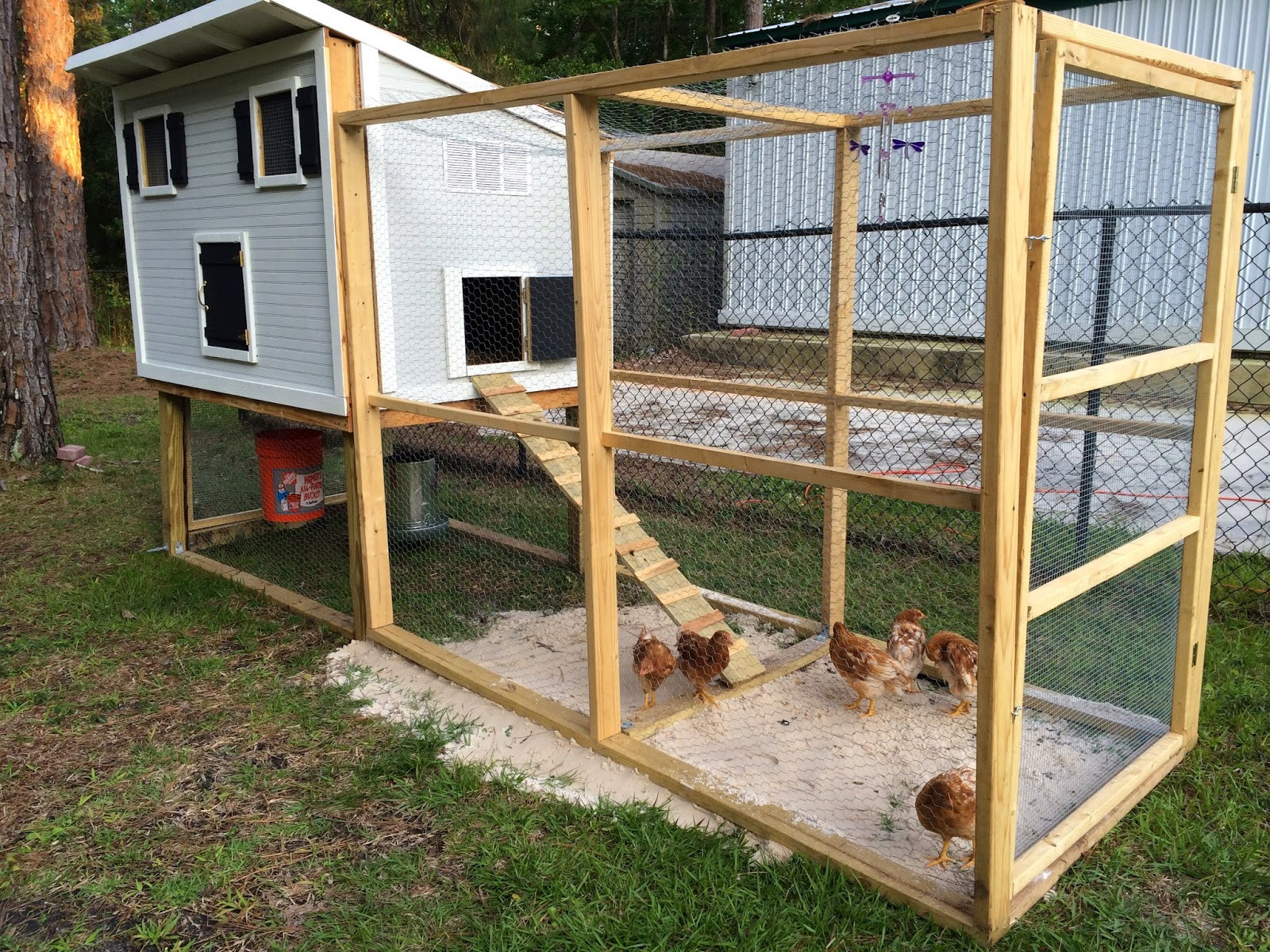 Best ideas about DIY Chicken Run . Save or Pin Fabulously Vintage I built a chicken coop and i want to Now.