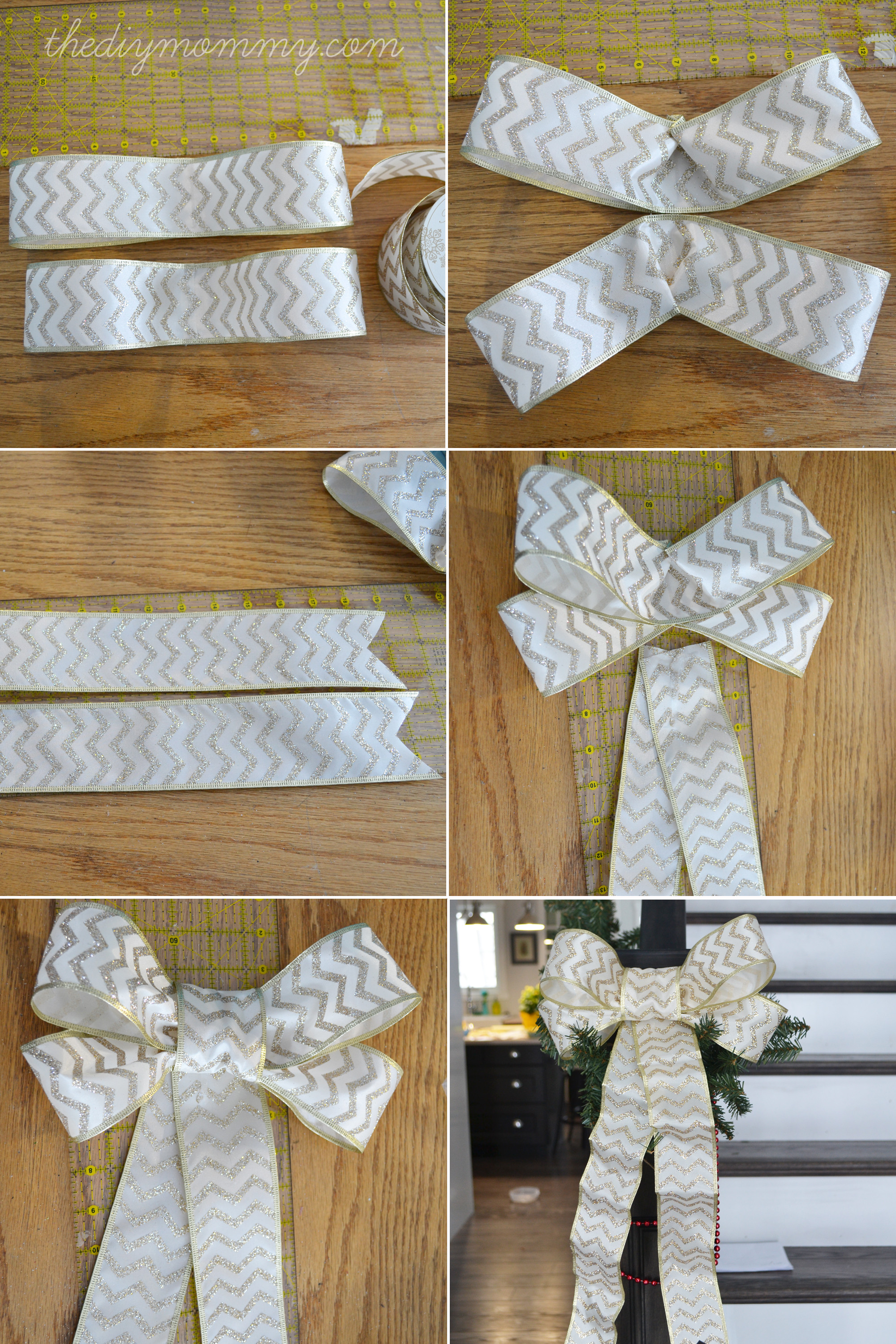 Best ideas about DIY Christmas Bow . Save or Pin Make DIY Wired Ribbon Bows Now.
