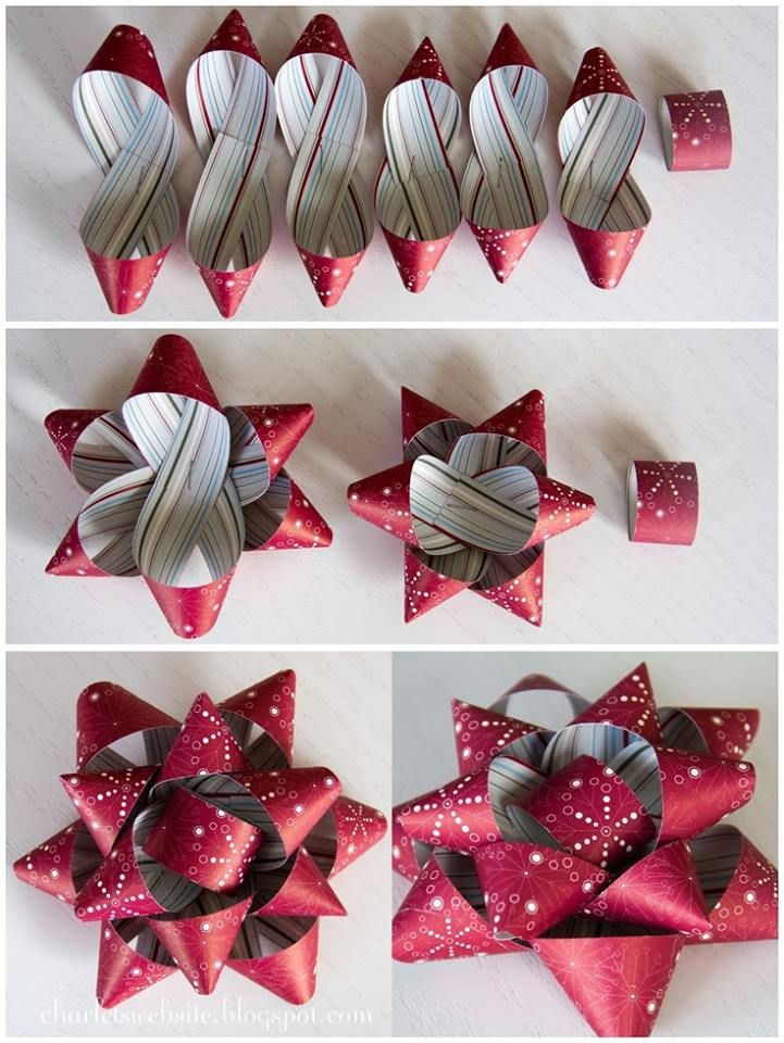 Best ideas about DIY Christmas Bow . Save or Pin Best 25 Wrapping paper bows ideas on Pinterest Now.
