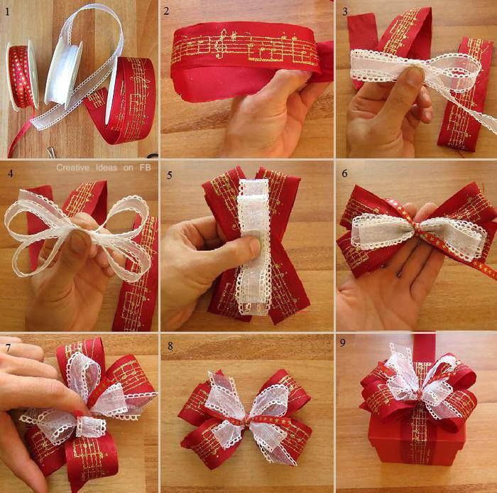 Best ideas about DIY Christmas Bow . Save or Pin How To Wrap A Beautiful Christmas Bow Step By Step Now.
