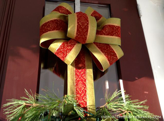 Best ideas about DIY Christmas Bow . Save or Pin How to make a bow a step by step tutorial Now.