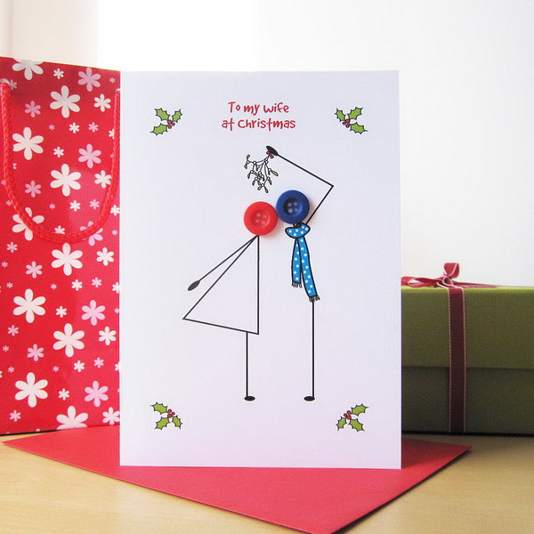 Best ideas about DIY Christmas Cards . Save or Pin 50 Creative Homemade Christmas Cards Showcase Hative Now.