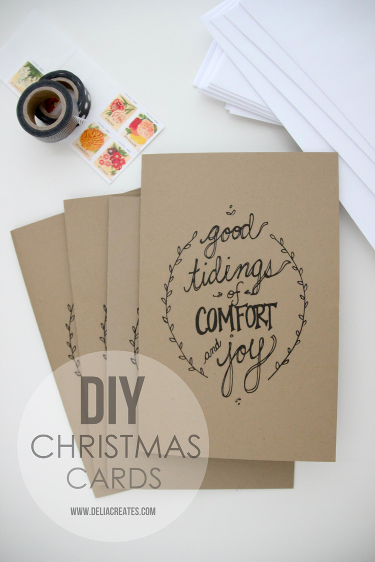 Best ideas about DIY Christmas Cards . Save or Pin DIY Christmas Cards free printable Now.