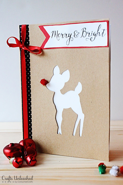 Best ideas about DIY Christmas Cards . Save or Pin DIY Christmas Cards Merry & Bright Crafts Unleashed Now.