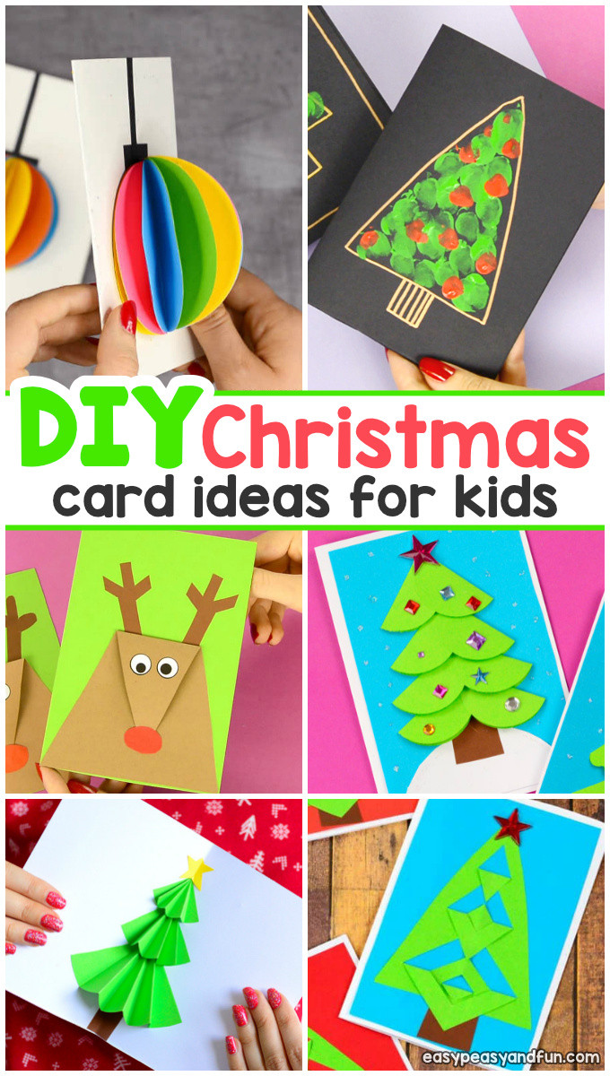 Best ideas about DIY Christmas Cards . Save or Pin DIY Christmas Card Ideas Easy Peasy and Fun Now.