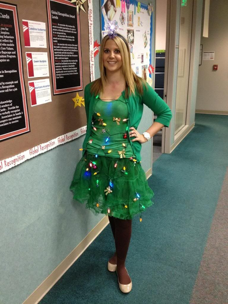 Best ideas about DIY Christmas Costumes . Save or Pin DIY Christmas Tree costume And the new baby can be a Now.