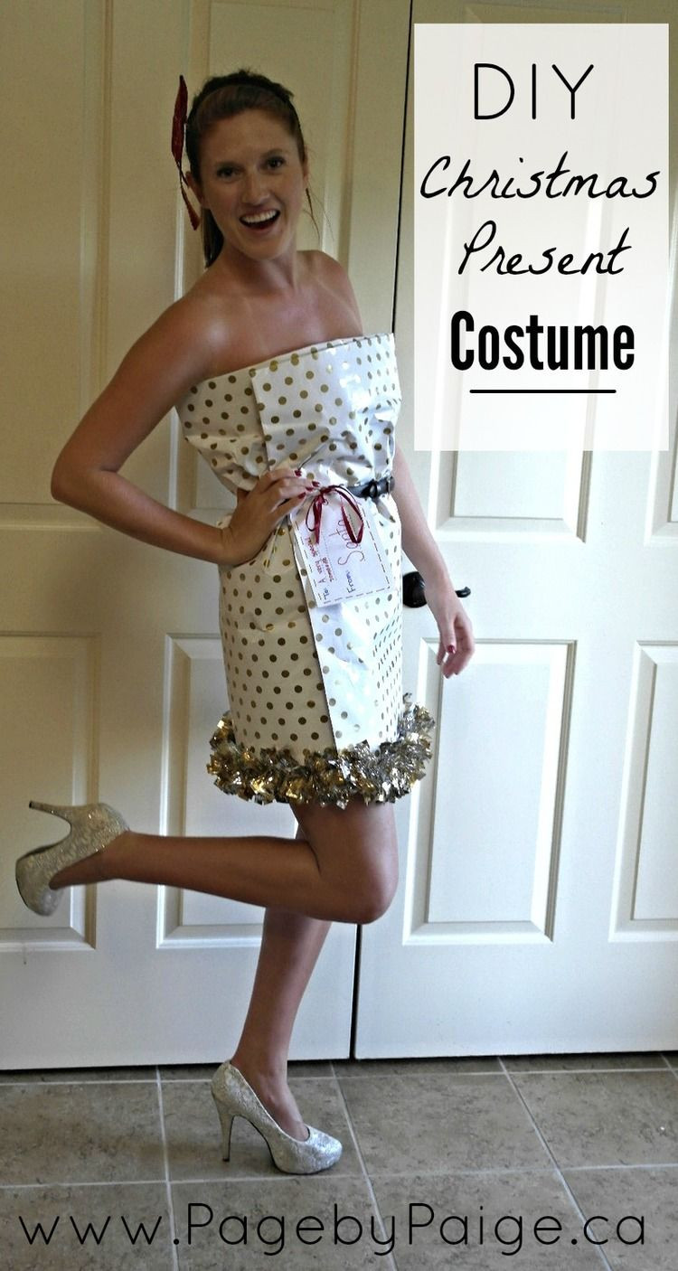 Best ideas about DIY Christmas Costumes . Save or Pin DIY Christmas Present Costume Now.