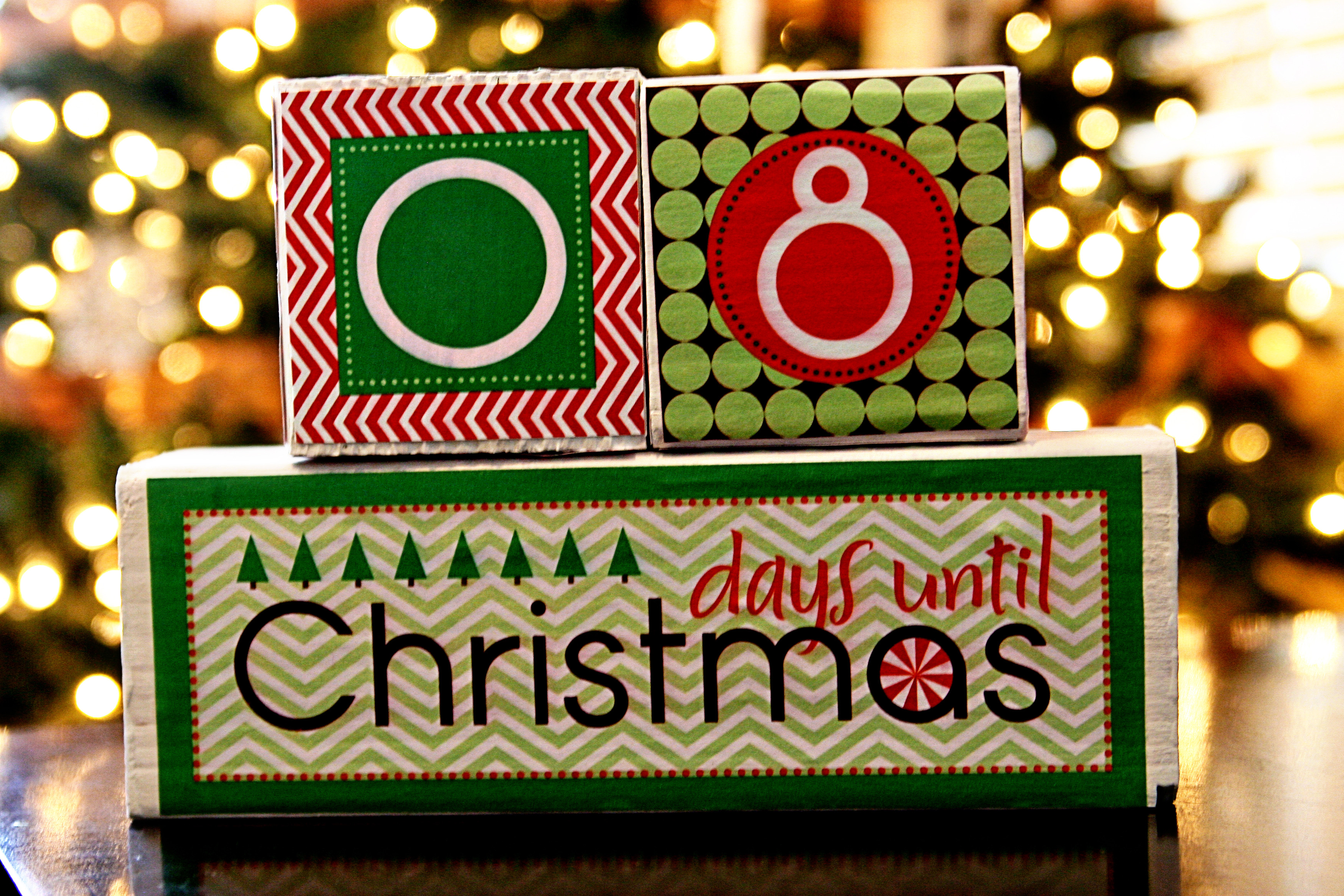 Best ideas about DIY Christmas Countdown . Save or Pin diy tutorial christmas countdown blocks See Vanessa Craft Now.