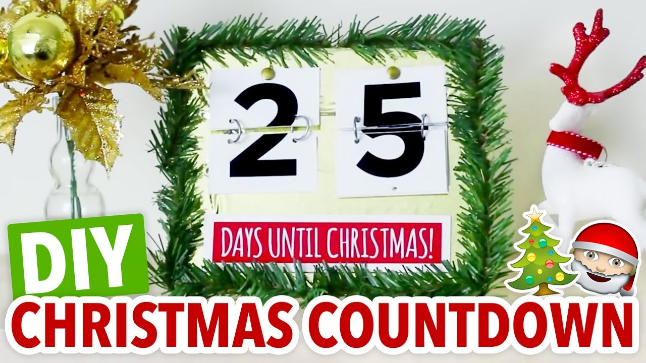 Best ideas about DIY Christmas Countdown . Save or Pin DIY Christmas Countdown Easy Holiday Calendar HGTV Now.