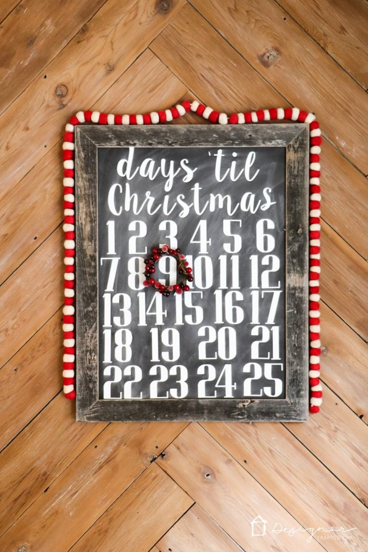 Best ideas about DIY Christmas Countdown . Save or Pin DIY Christmas Countdown Calendar Now.