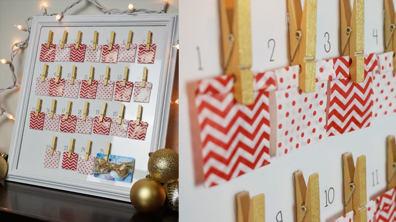 Best ideas about DIY Christmas Countdown . Save or Pin DIY Christmas Countdown Calendar Advent Calendar Now.