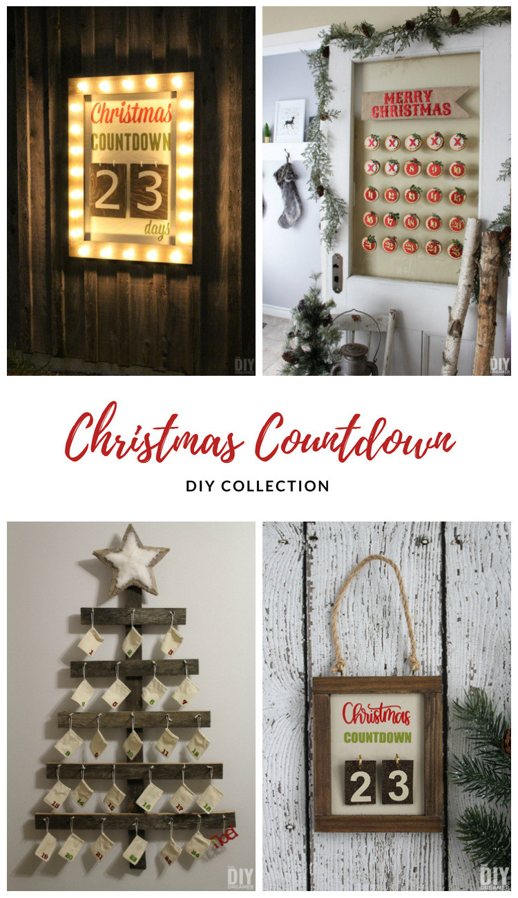 Best ideas about DIY Christmas Countdown . Save or Pin DIY Christmas Countdown Collection Days until Christmas Now.
