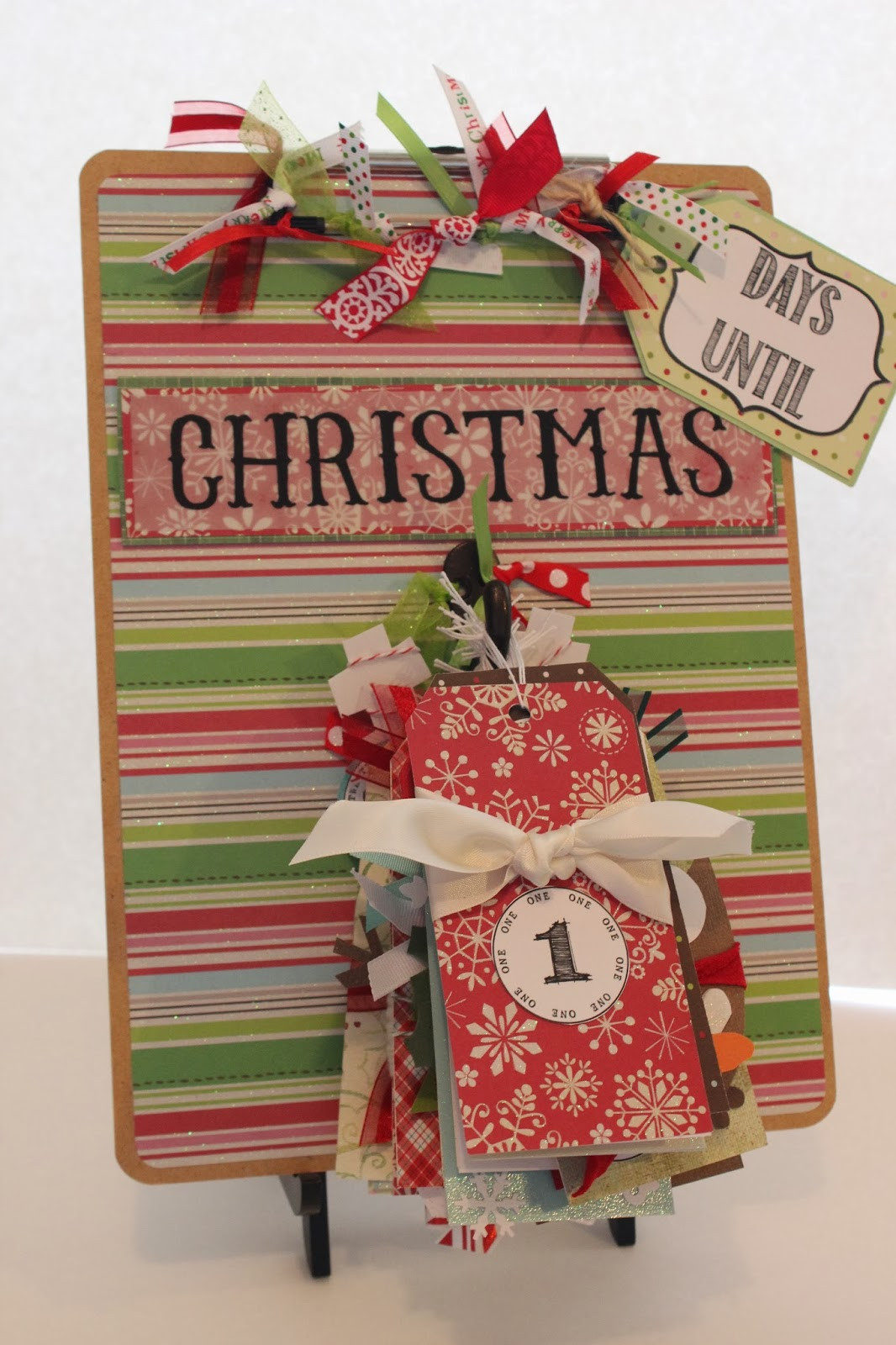 Best ideas about DIY Christmas Countdown . Save or Pin Small Fry & Co DIY Clipboard Christmas Countdown Now.