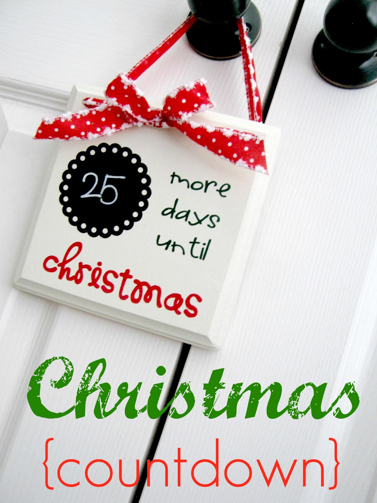 Best ideas about DIY Christmas Countdown . Save or Pin 25 Handmade Christmas Ideas The 36th AVENUE Now.
