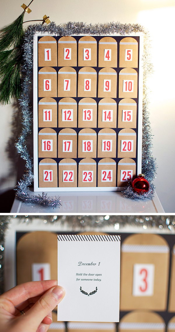 Best ideas about DIY Christmas Countdown . Save or Pin DIY Christmas Countdown Calendar Ideas & Tutorials 2017 Now.