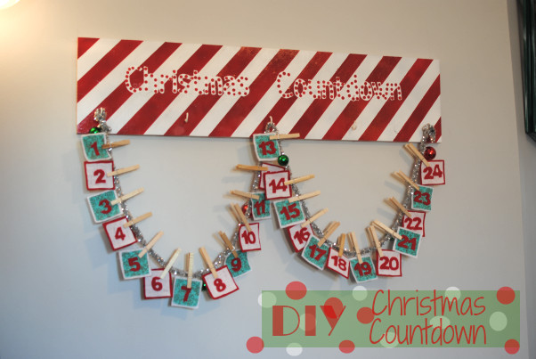 Best ideas about DIY Christmas Countdown . Save or Pin Diy Projects Archives Pennywise Cook Now.