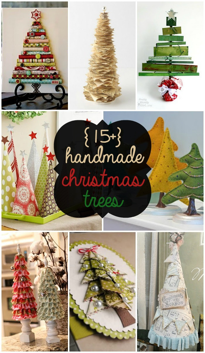 Best ideas about DIY Christmas Decor . Save or Pin 30 Handmade Christmas Trees Now.