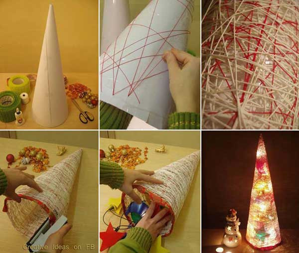 Best ideas about DIY Christmas Decor Ideas . Save or Pin 61 Easy and In Bud DIY Christmas Decoration Ideas Part Now.