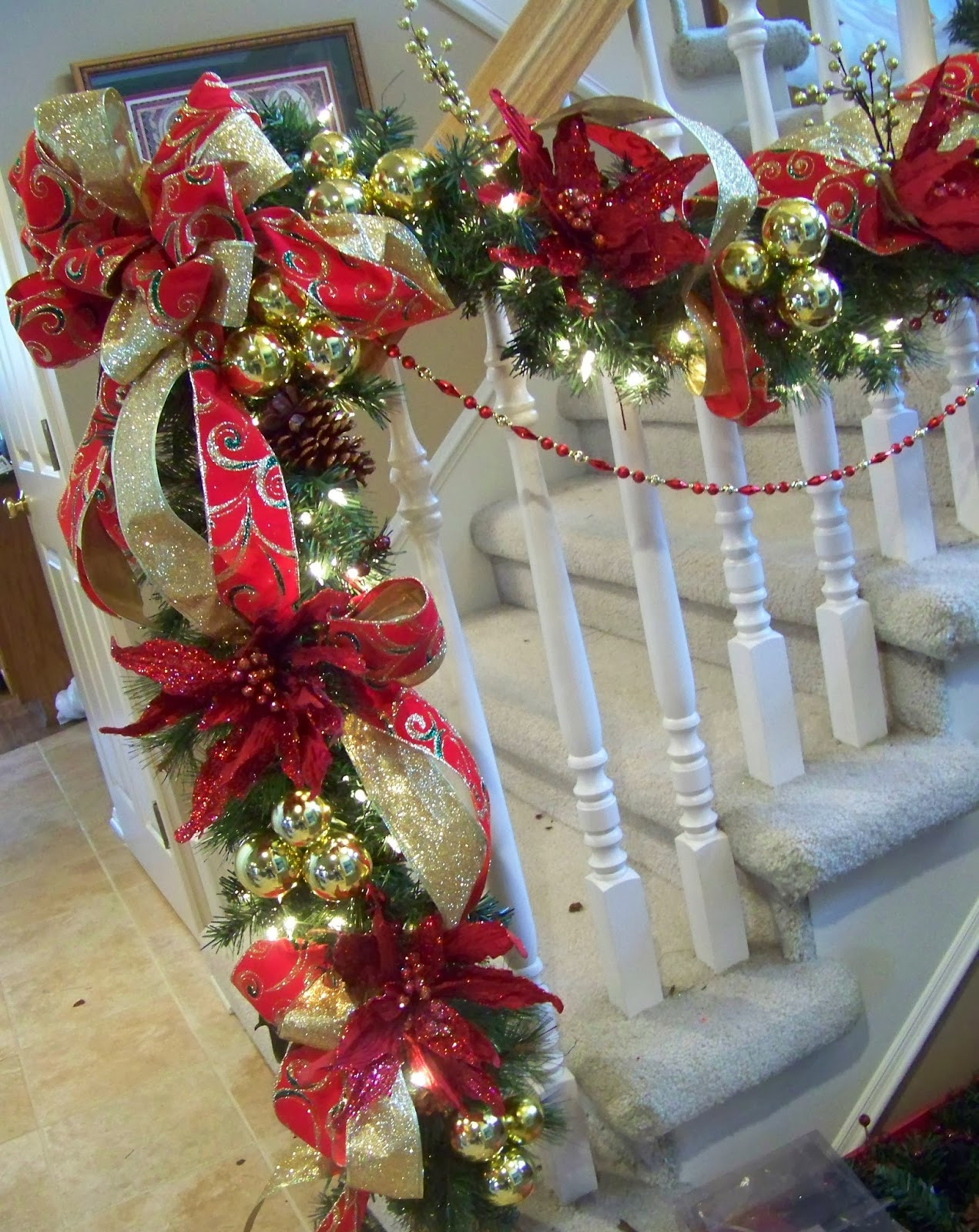 Best ideas about DIY Christmas Decor Ideas . Save or Pin 50 Best DIY Christmas Garland Decorating Ideas for 2019 Now.