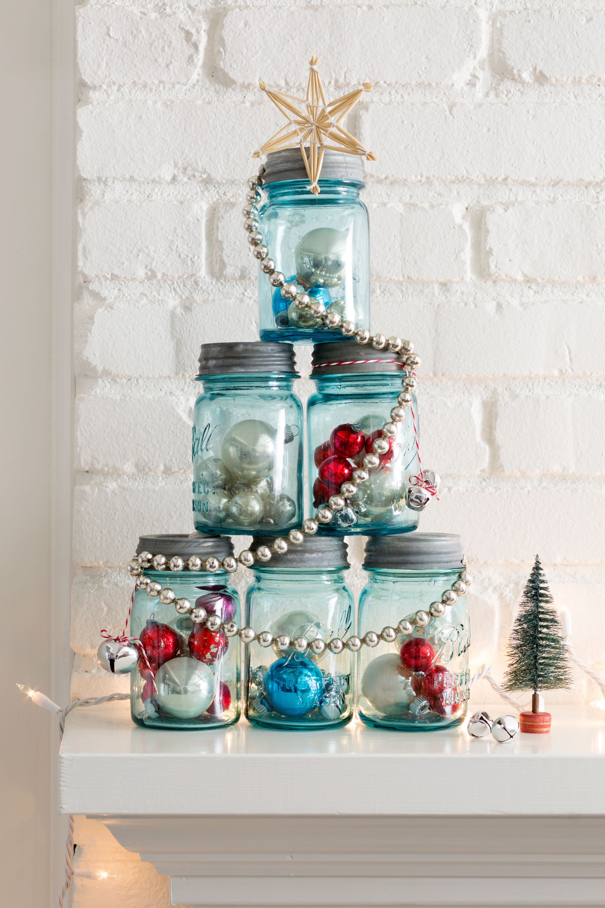 Best ideas about DIY Christmas Decor Ideas . Save or Pin 37 DIY Homemade Christmas Decorations Christmas Decor Now.