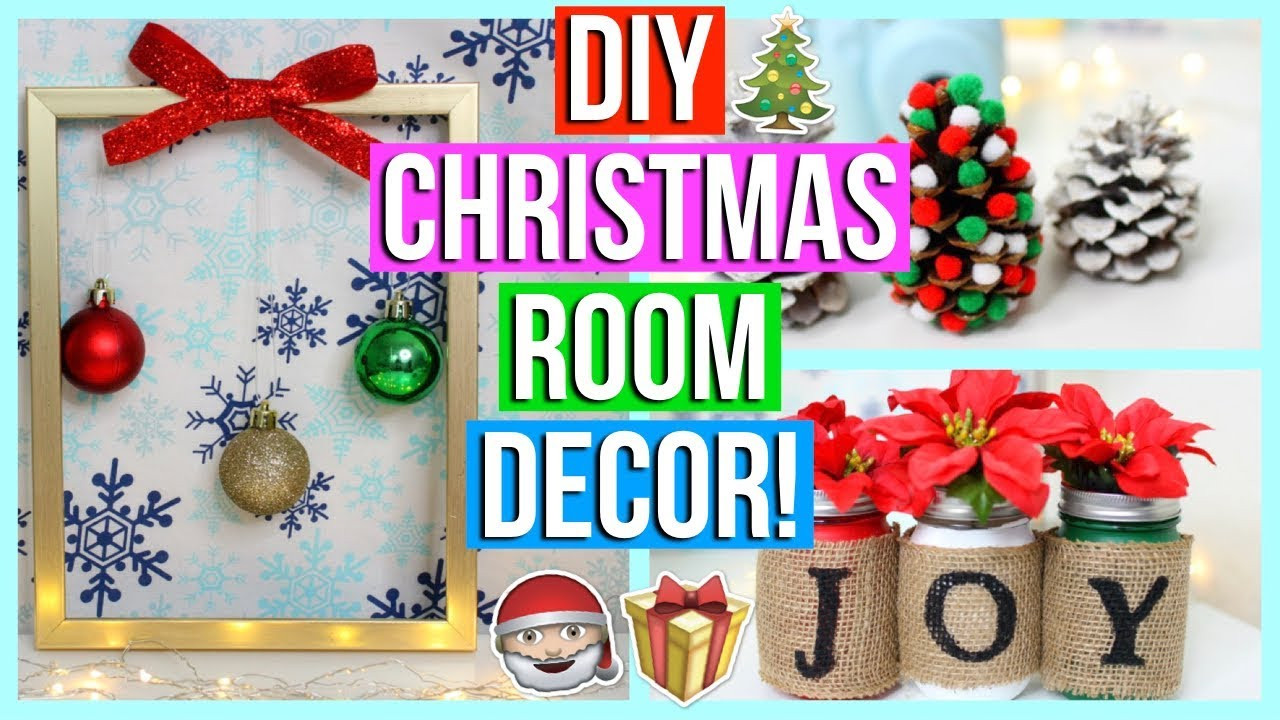 Best ideas about DIY Christmas Decorations For Your Room . Save or Pin DIY Christmas Room Decor 2017 Now.