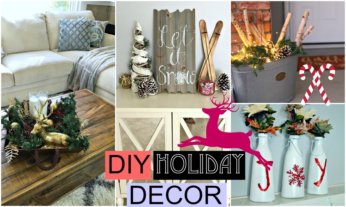 Best ideas about DIY Christmas Decorations For Your Room . Save or Pin DIY Holiday Room Decor DIY Christmas Now.