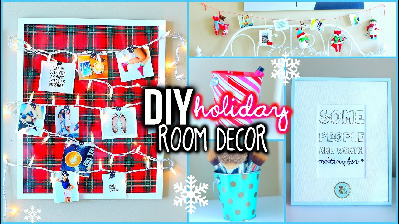 Best ideas about DIY Christmas Decorations For Your Room . Save or Pin DIY Holiday Room Decorations Easy Ways To Organize Now.