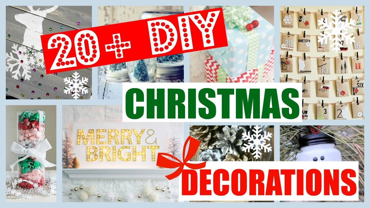 Best ideas about DIY Christmas Decorations For Your Room . Save or Pin 20 DIY Christmas Room Decor Ideas You NEED To Try ASAP Now.
