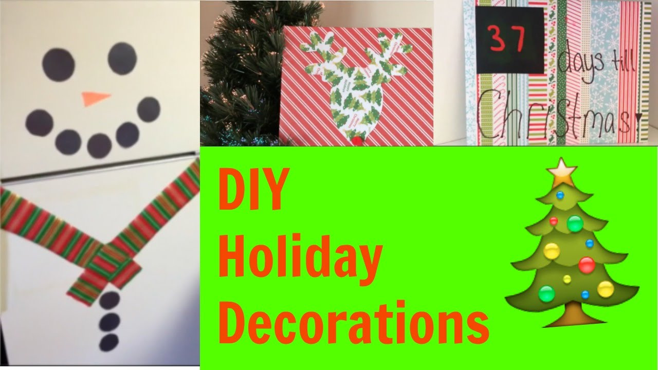 Best ideas about DIY Christmas Decorations For Your Room . Save or Pin DIY Holiday Decor Easy Christmas Decorations For Your Now.