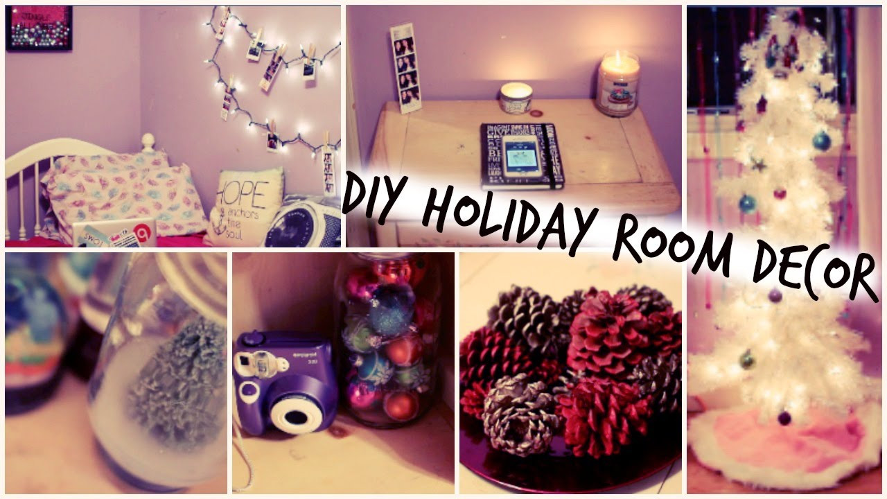 Best ideas about DIY Christmas Decorations For Your Room . Save or Pin DIY Holiday Room Decorations Easy Ways to Decorate for Now.