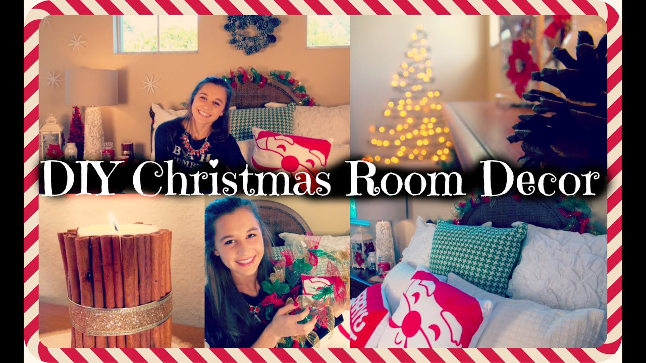 Best ideas about DIY Christmas Decorations For Your Room . Save or Pin DIY Christmas Room Decor Now.