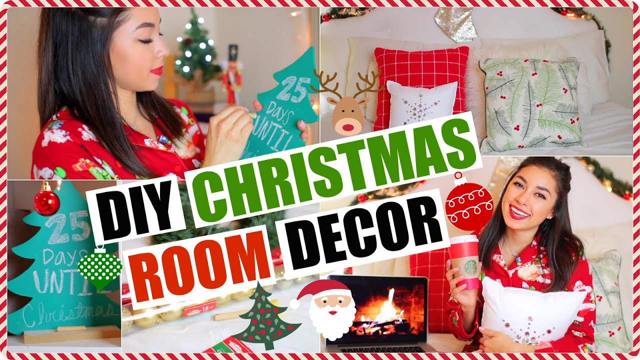 Best ideas about DIY Christmas Decorations For Your Room . Save or Pin DIY Holiday Room Decor Cheap & Easy Ways To Decorate Your Now.