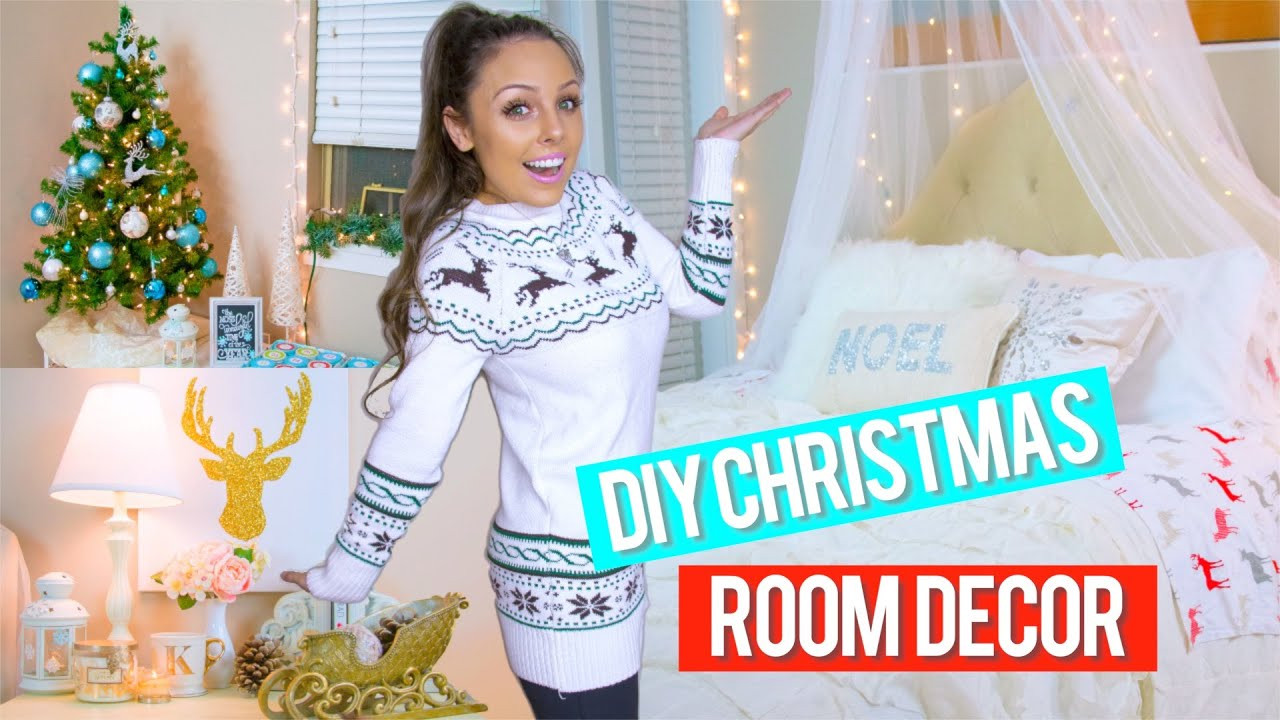 Best ideas about DIY Christmas Decorations For Your Room . Save or Pin DIY Holiday Room Decor Easy DIY Christmas Decorations Now.