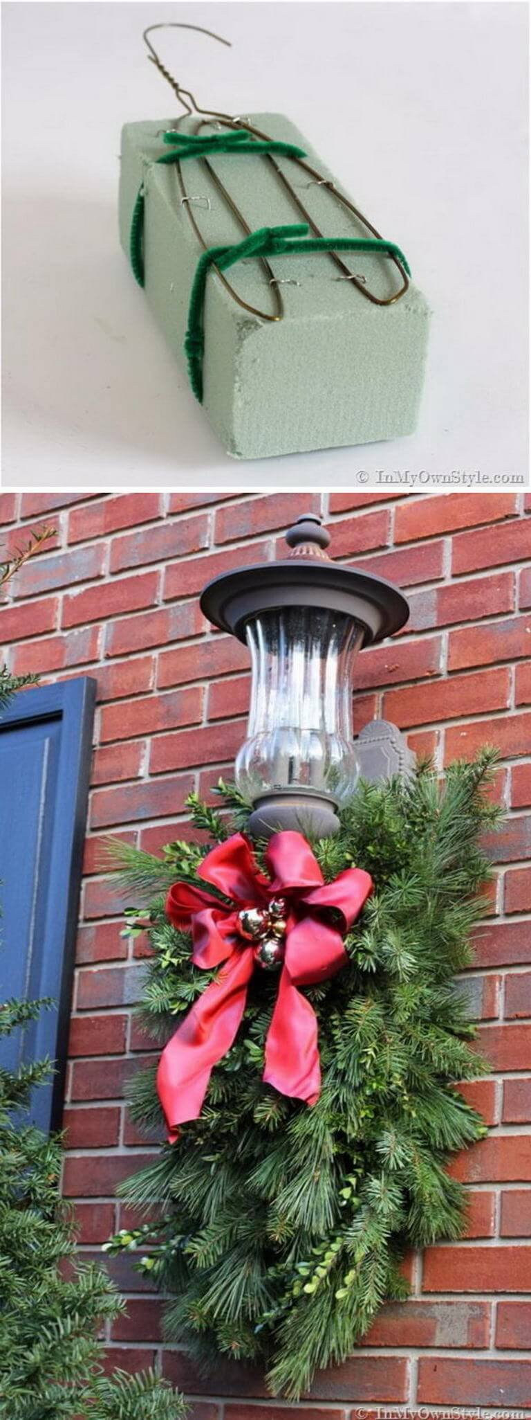 Best ideas about DIY Christmas Decorations Outdoors . Save or Pin 35 Best Christmas DIY Outdoor Decor Ideas and Designs for Now.