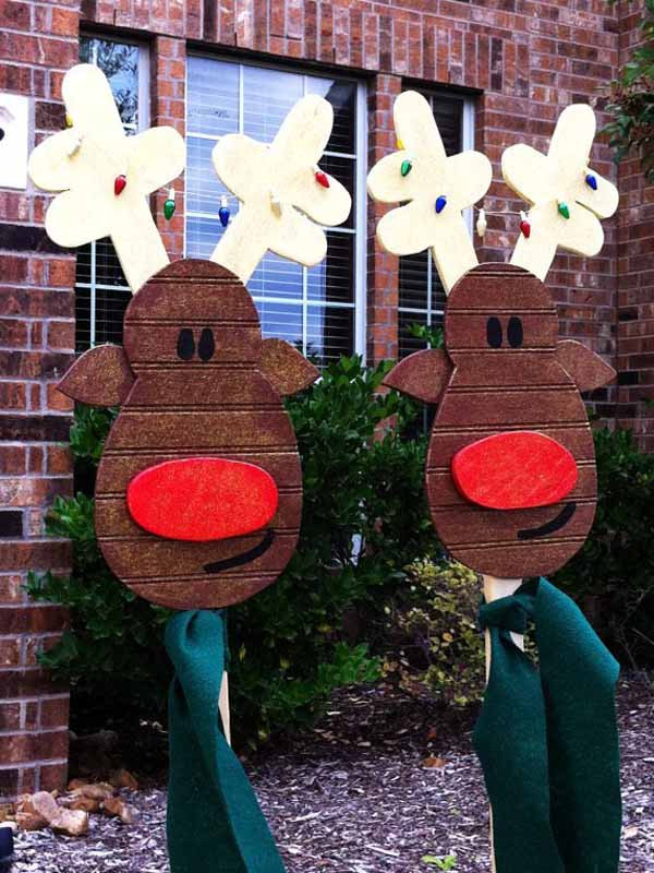 Best ideas about DIY Christmas Decorations Outdoors . Save or Pin DIY Christmas Decorations Christmas Celebration All Now.
