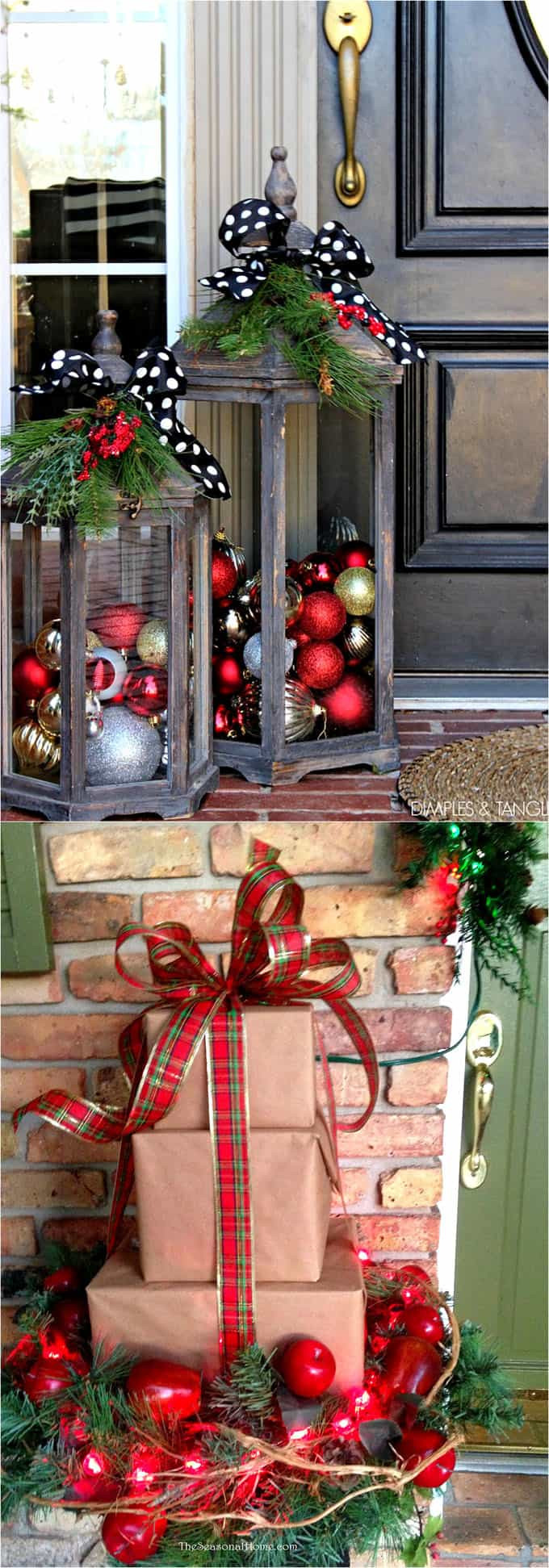 Best ideas about DIY Christmas Decorations Outdoors . Save or Pin Gorgeous Outdoor Christmas Decorations 32 Best Ideas Now.
