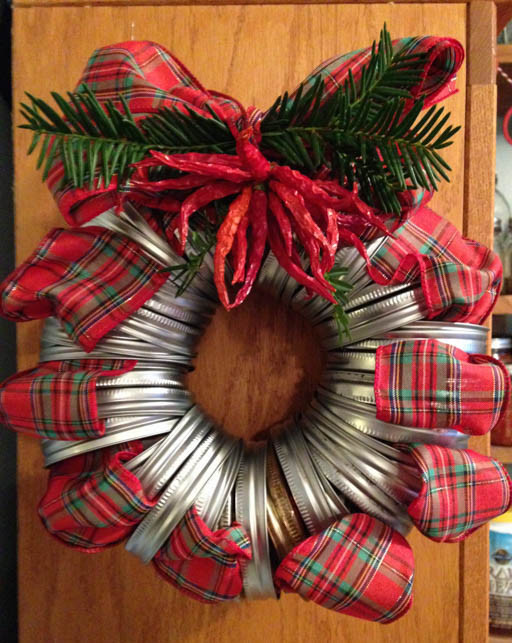 Best ideas about DIY Christmas Door Decoration . Save or Pin Christmas door wreaths 18 Craft ideas with cheap materials Now.