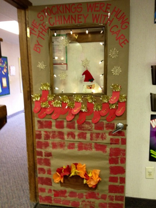 Best ideas about DIY Christmas Door Decoration . Save or Pin DIY Door Decoration For Christmas Cathy Now.