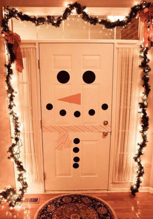 Best ideas about DIY Christmas Door Decoration . Save or Pin 5 Bud DIY Christmas Decorations Now.