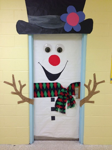 Best ideas about DIY Christmas Door Decoration . Save or Pin 50 Best Christmas Door Decoration Ideas 2016 – I love Pink Now.