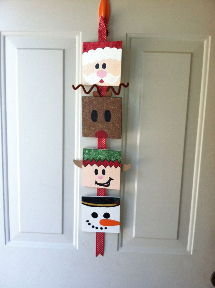 Best ideas about DIY Christmas Door Decoration . Save or Pin 1050 best Christmas Crafts images on Pinterest Now.