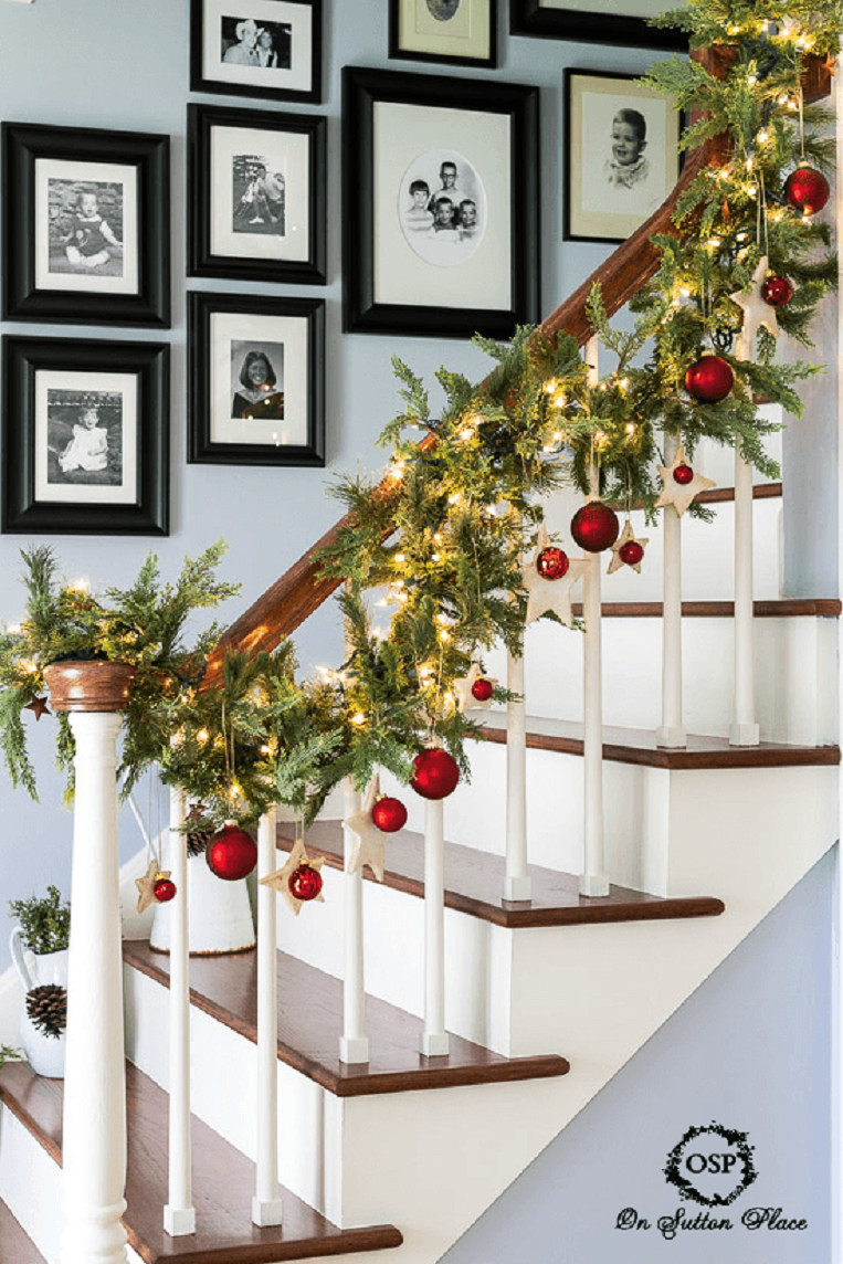 Best ideas about DIY Christmas Garland Ideas . Save or Pin 50 Trendy and Beautiful DIY Christmas Lights Decoration Now.