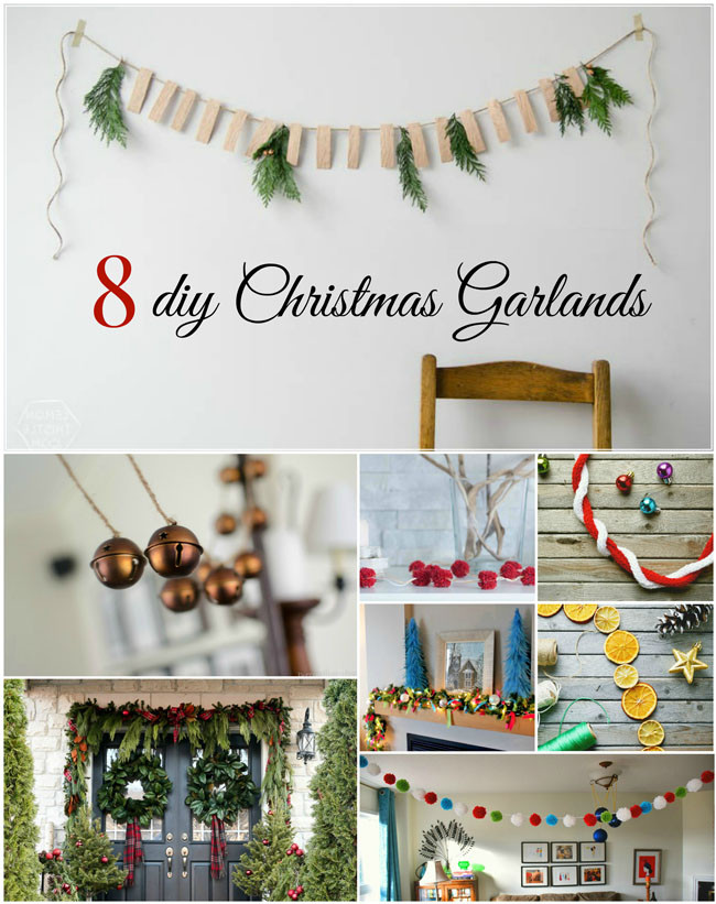 Best ideas about DIY Christmas Garland Ideas . Save or Pin Woman in Real Life The Art of the Everyday 8 diy Now.