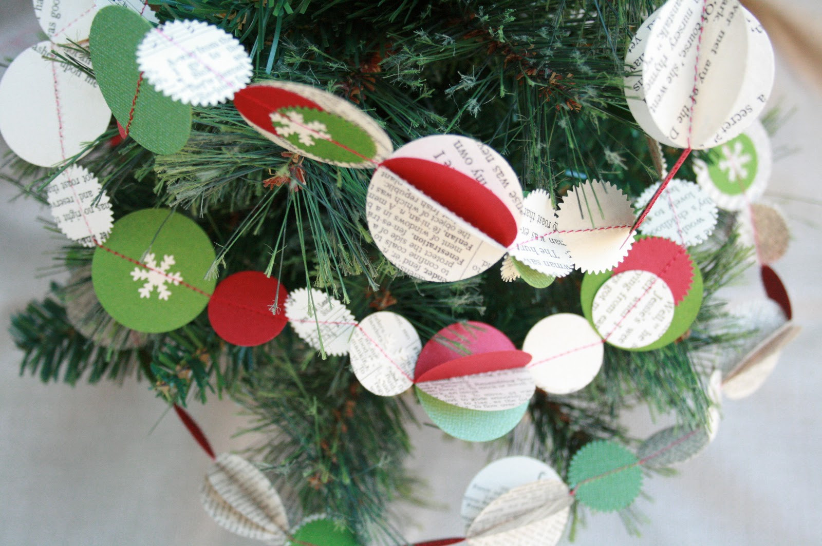 Best ideas about DIY Christmas Garlands . Save or Pin The Creative Place DIY Festive Holiday Garland Now.