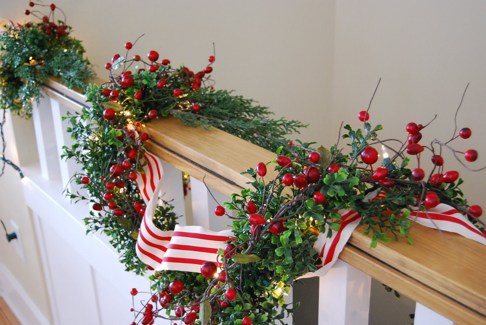 Best ideas about DIY Christmas Garlands . Save or Pin Home By Heidi DIY Christmas Garland Now.