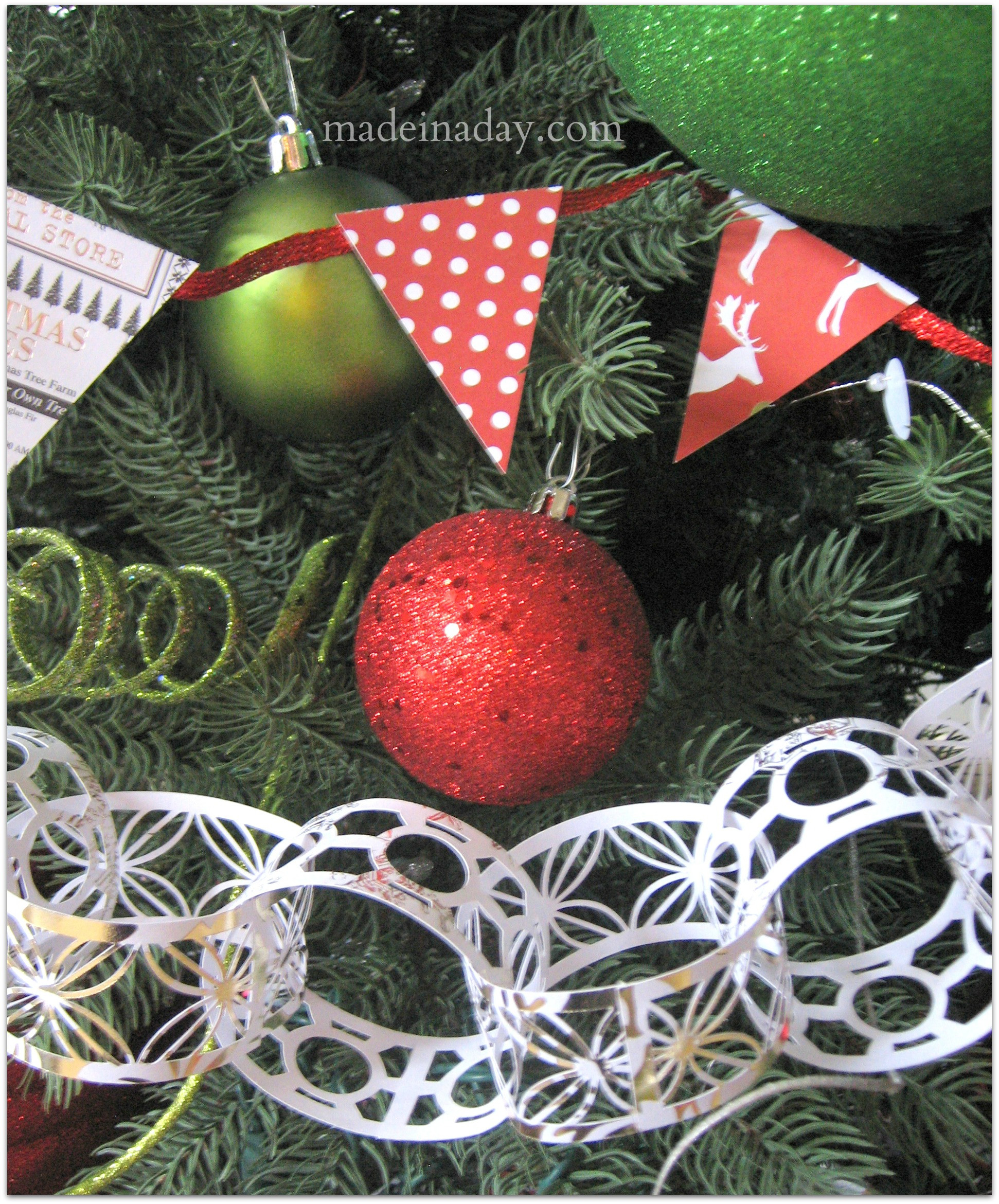 Best ideas about DIY Christmas Garlands . Save or Pin 5 Easy Holiday Garlands Now.