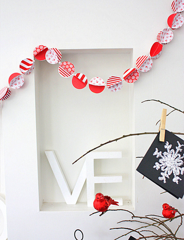 Best ideas about DIY Christmas Garlands . Save or Pin 22 UNIQUE HANDMADE GARLAND IDEAS TO TRY WITH YOUR KIDS Now.