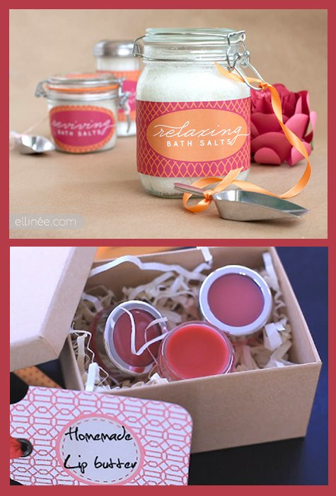 Best ideas about DIY Christmas Gift For Her . Save or Pin DIY Bath & Beauty Gift Ideas Handmade DIY Gifts for Her Now.